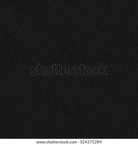 black background canvas texture pattern - stock photo