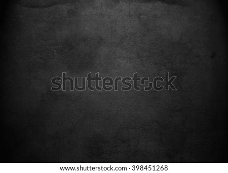 Black background.Chalkboard. Grunge  - stock photo
