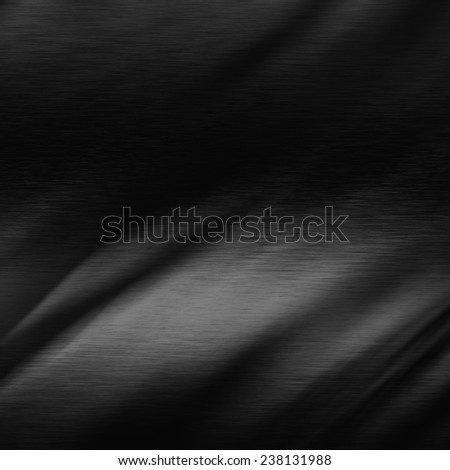 black background metal texture, may use as high tech background - stock photo