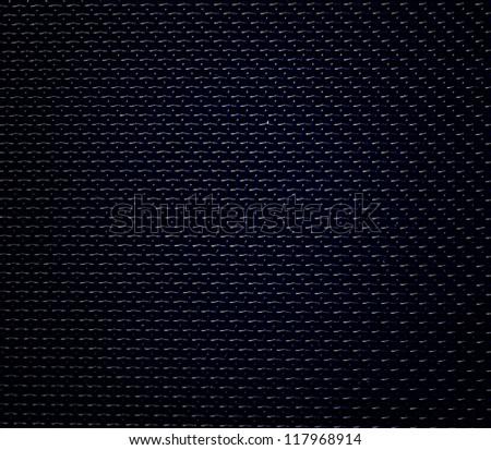 black background of hexagonal pattern texture - stock photo