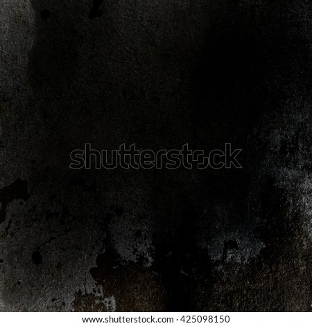 black background old wall texture - stock photo
