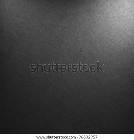 black background or luxury gray background abstract white corner light and vintage grunge background texture, black and white background for printing monochrome brochure, web ad, elegant dark gradient