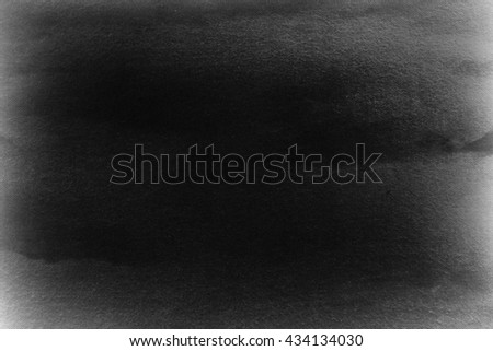 black background texture, old canvas fabric texture background - stock photo