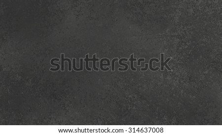 black background texture, old chalkboard texture illustration with white sponged texture, old vintage black background banner - stock photo