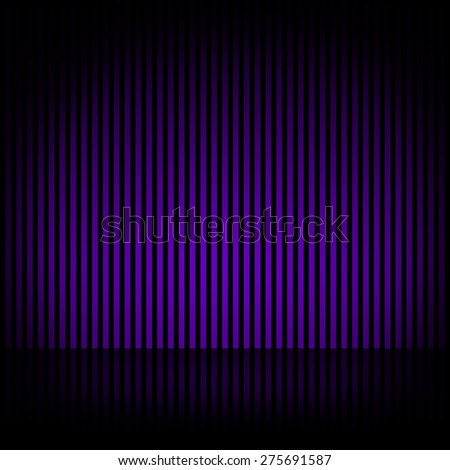 Black background with vertical stripes effect purple
