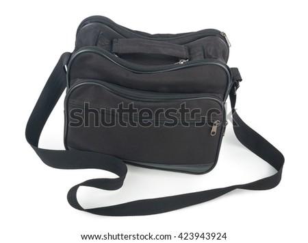 Black bag - stock photo