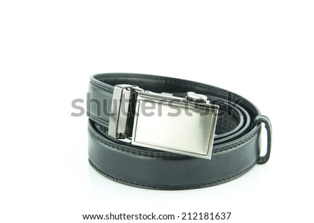 Black belt for men