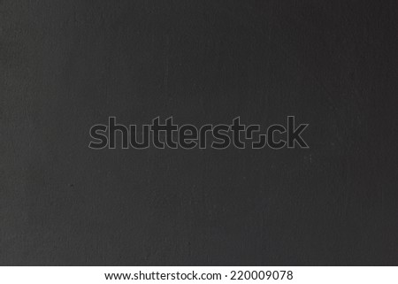Black blank chalkboard for background. - stock photo