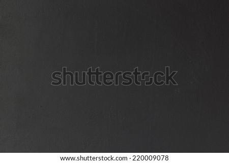 Black blank chalkboard for background. - stock photo