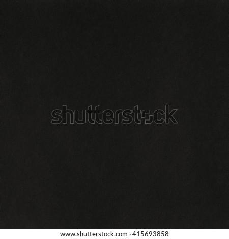 Black blank paper dark background, black paper texture - stock photo