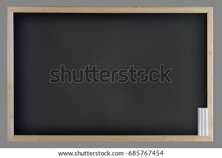 black board chalkboard for graphic,free space for promote interior design or display your empty blank texture blackboard with abstract chalk rubbed out  for background. use for education concept.