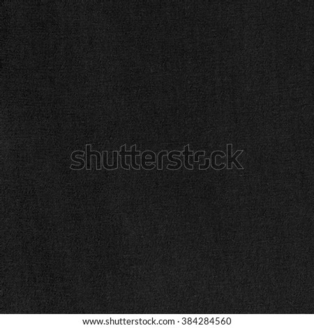 black canvas background texture - stock photo
