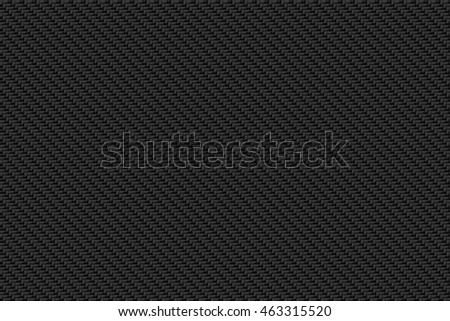 black carbon fiber background and texture for material design. 3d illustration.