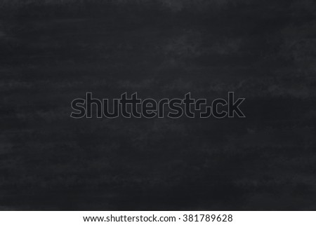 Black Chalkboard Texture - stock photo