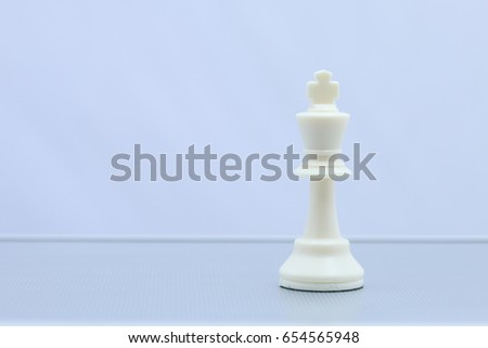 Black chess king win. Business concept