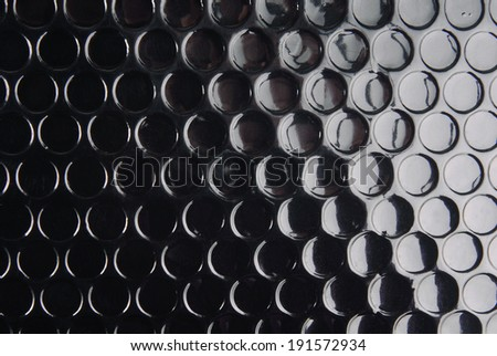 black circle textured background - stock photo