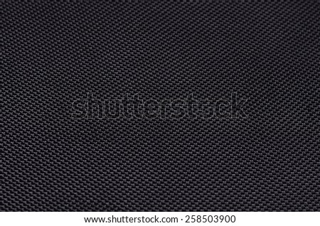 black cloth coffer