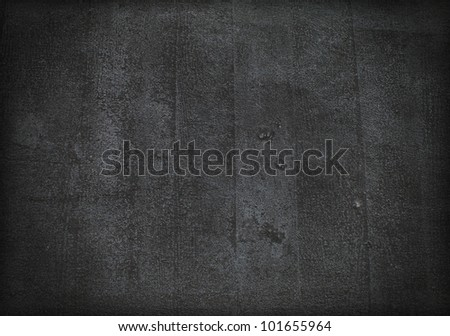 Black dark floor background or texture illustration