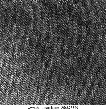 black denim texture as background