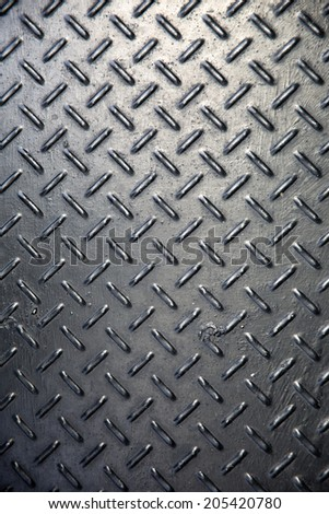 black diamond steel background