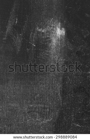 Black Dusty and Scratchy Background, Texture - stock photo