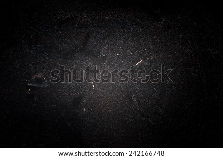 Black Dusty Background