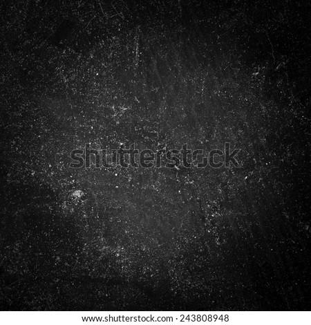 Black Dusty Surface Texture - stock photo