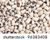 Black-eyed Beans texture background. Have a good aroma, creamy texture and distinctive flavor. - stock photo