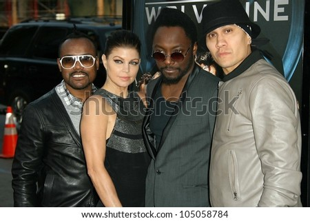 Black Eyed Peas at the Industry Screening of 'X-Men Origins Wolverine'. Grauman's Chinese Theater, Hollywood, CA. 04-28-09