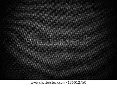 black fabric background - stock photo