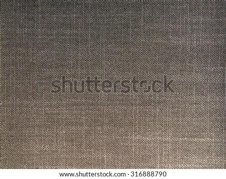 black fabric texture - stock photo