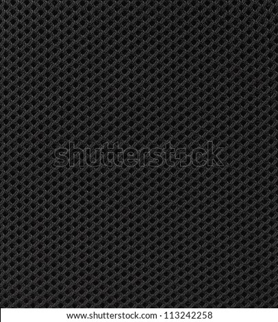 black fabric texture background - stock photo