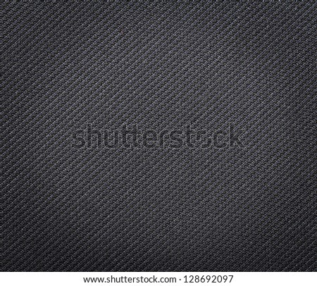 Black fabric texture. Clothes background. Close up
