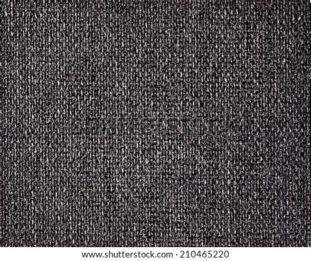 black fabric texture for background - stock photo