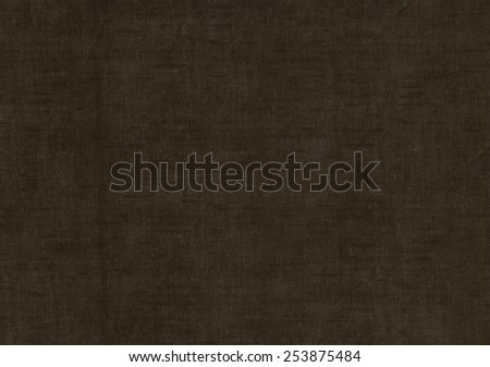 Black fabric texture for background.  - stock photo