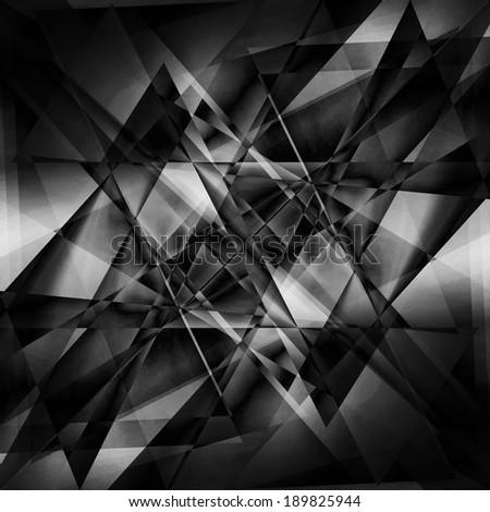 black facet background - stock photo