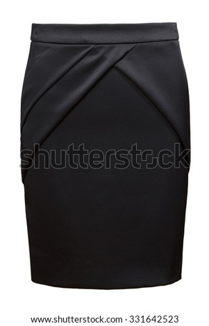 black female skirt