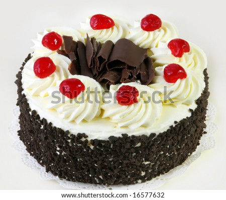 http://thumb1.shutterstock.com/display_pic_with_logo/60694/60694,1219783691,4/stock-photo-black-forest-cake-topped-with-whipped-cream-and-cherries-16577632.jpg