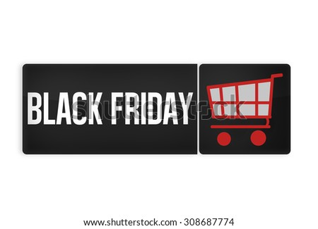 Black Friday Black Button