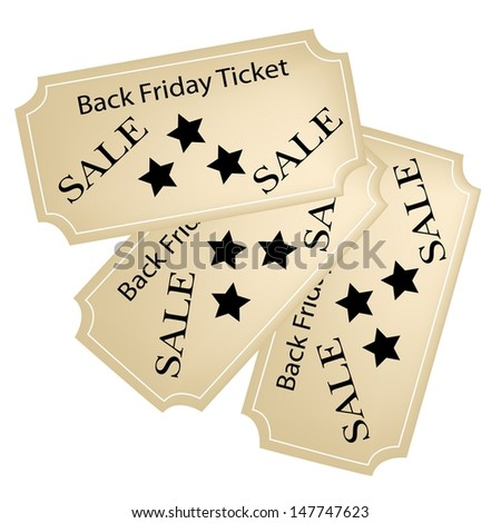 Black Friday Tickets, Is A Special Promotion in Christmas Shopping Season.