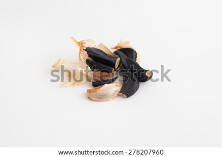 Black garlics 9 - stock photo