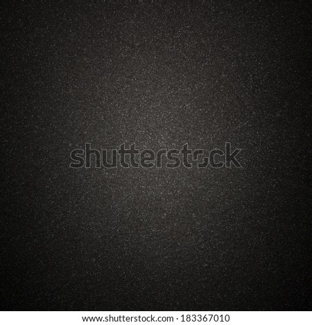 Black Grainy Surface Background