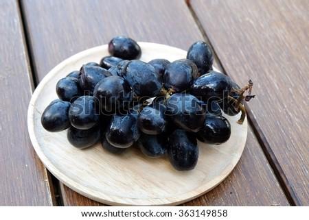 Single Black Grape Sto...