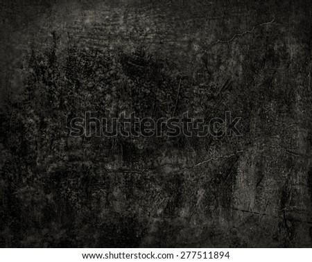 Black grunge texture background - stock photo