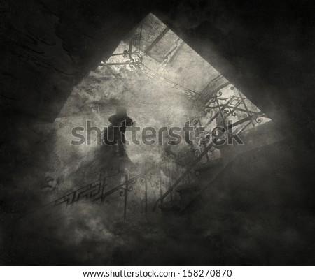 Black guard - stock photo