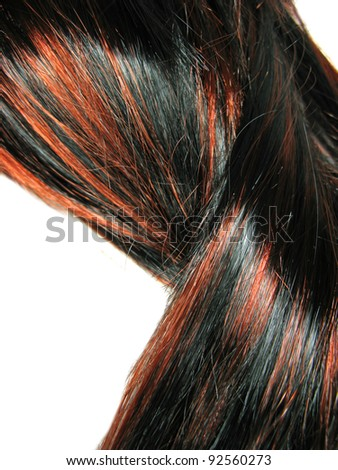 Hair streaks stock images royalty free images vectors black highlight hair texture abstract background pmusecretfo Image collections