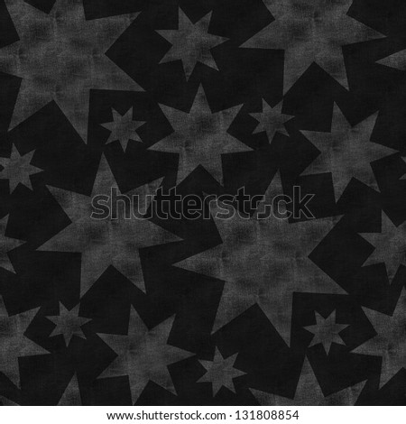 black jeans background with stars