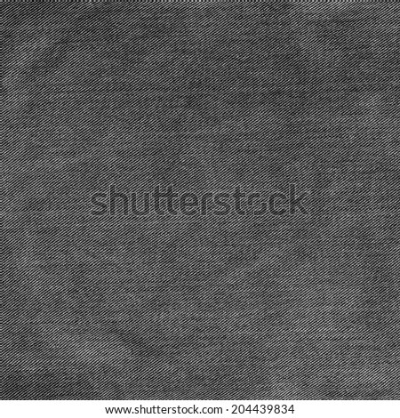 black  jeans texture  - stock photo