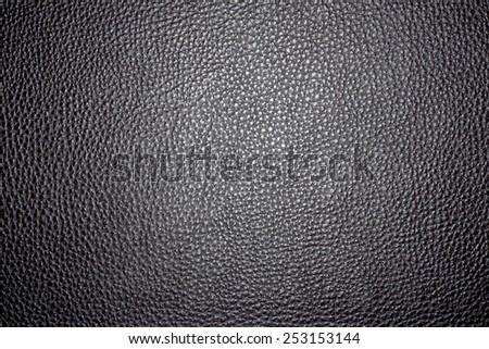 black leather pattern - stock photo