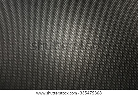 Black leather texture. Background black leather - stock photo